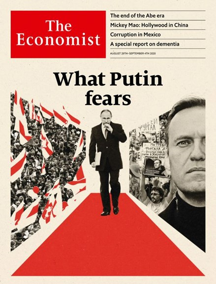 The Economist Cover - 8/29/2020