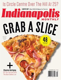 Indianapolis Monthly Magazine | 9/2020 Cover