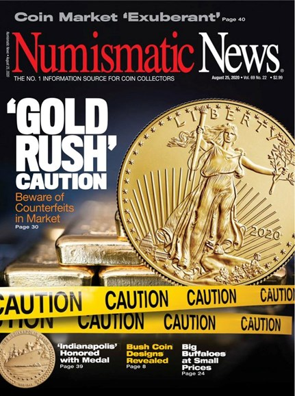 Numismatic News Cover - 8/25/2020