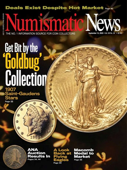 Numismatic News Cover - 9/15/2020