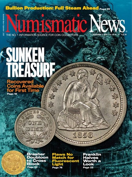 Numismatic News Cover - 9/1/2020
