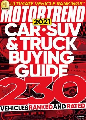Motor Trend Magazine | 10/2020 Cover