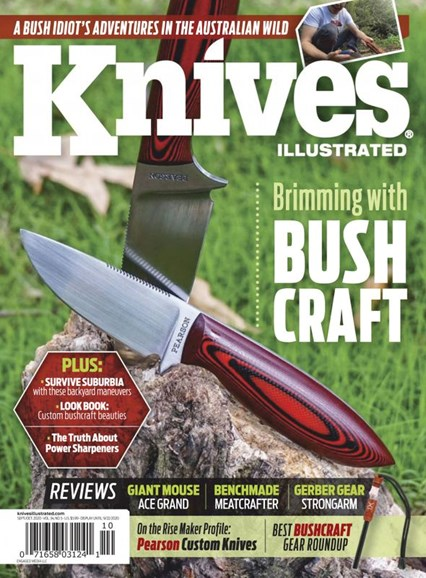 Knives Illustrated Cover - 9/1/2020