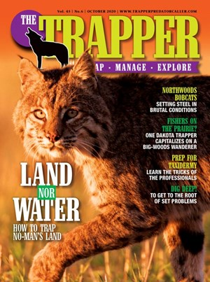 Trapper and Predator Caller Magazine | 10/2020 Cover