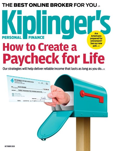 Kiplinger's Personal Finance Cover - 10/1/2020