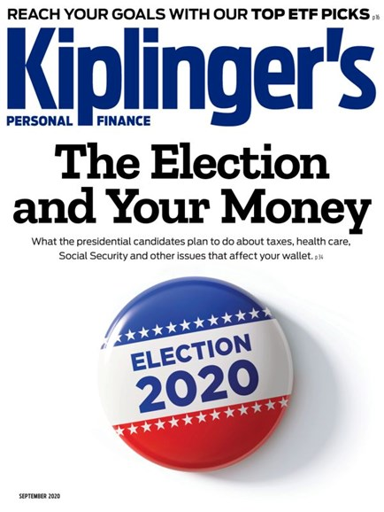 Kiplinger's Personal Finance Cover - 9/1/2020