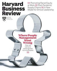 Harvard Business Review Magazine | 9/1/2020 Cover