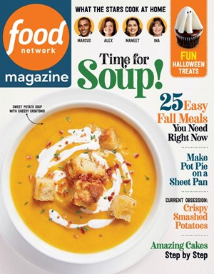 Food Network Magazine | 10/2020 Cover