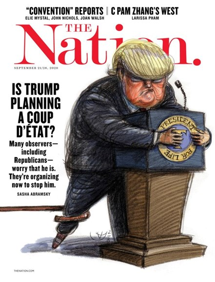 The Nation Cover - 9/21/2020