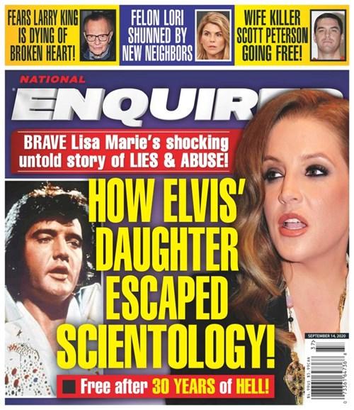 National Enquirer Cover - 9/14/2020