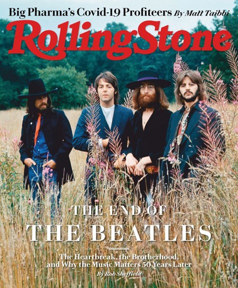 Rolling Stone Cover - 9/1/2020