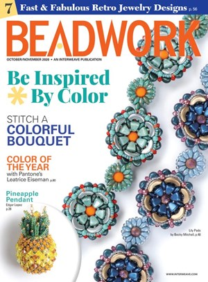 Beadwork Magazine | 10/2020 Cover