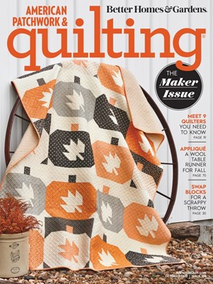 American Patchwork & Quilting Magazine | 10/1/2020 Cover