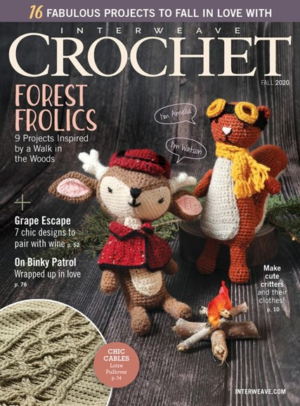 Interweave Crochet Cover - 9/1/2020