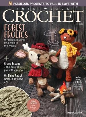 Interweave Crochet Magazine | 9/2020 Cover