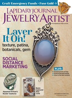 Lapidary Journal Jewelry Artist | 9/2020 Cover