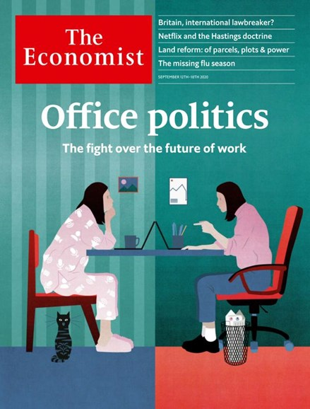 The Economist Cover - 9/12/2020