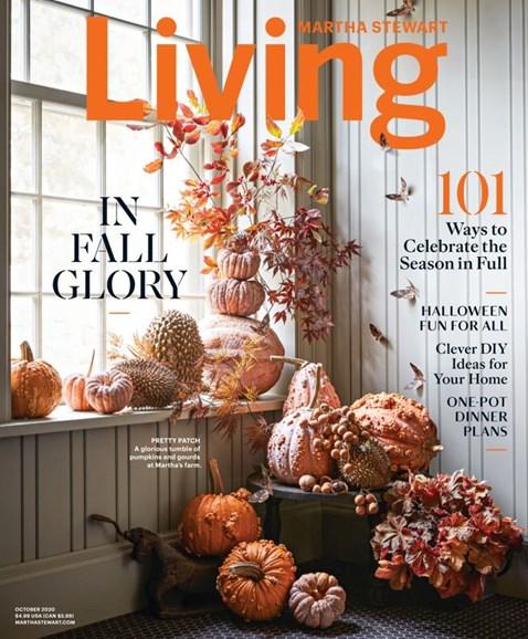 Martha Stewart Living Cover - 10/1/2020