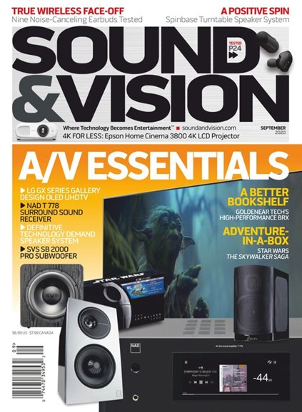 Sound & Vision Cover - 9/1/2020