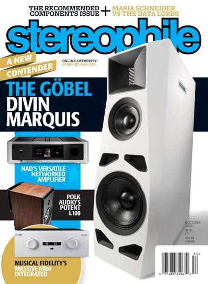 Stereophile Cover - 10/1/2020