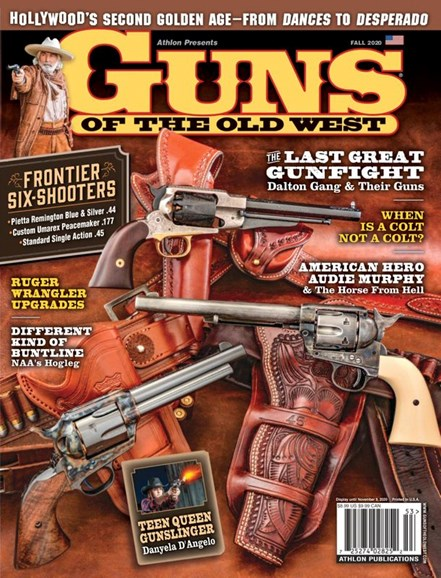 Guns Of The Old West Cover - 9/1/2020