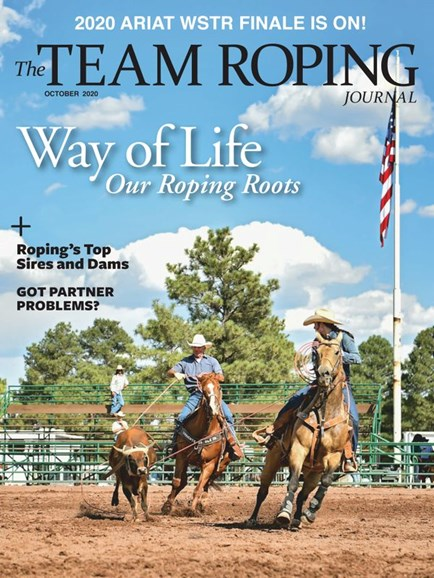 The Team Roping Journal Cover - 10/1/2020