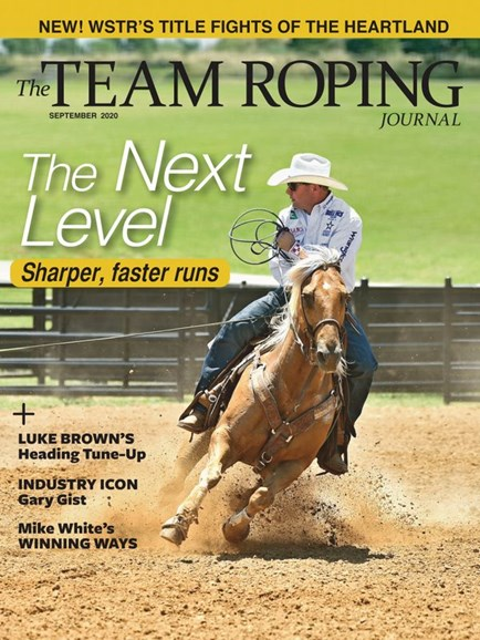 The Team Roping Journal Cover - 9/1/2020