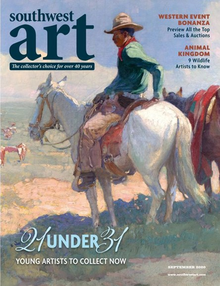Southwest Art Cover - 9/1/2020