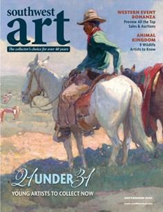 Southwest Art | 9/2020 Cover