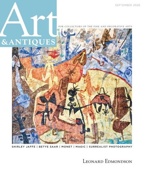 Art & Antiques Cover - 9/1/2020