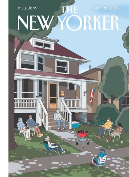 The New Yorker Cover - 9/21/2020