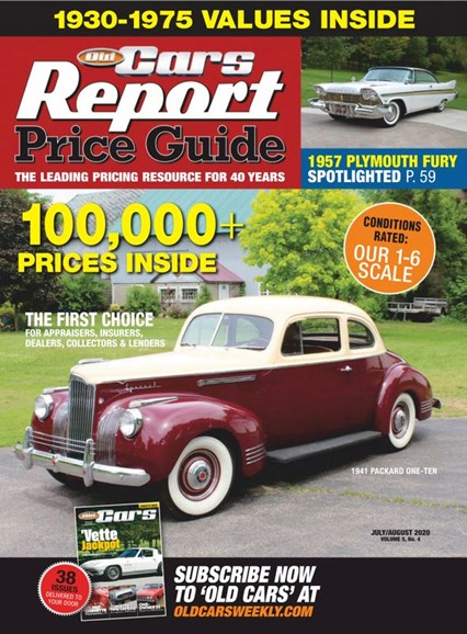 Old Cars Report Price Guide Cover - 7/1/2020
