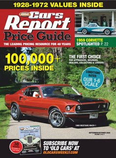 Old Cars Report Price Guide | 9/2020 Cover