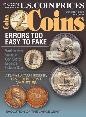 Coins Magazine | 10/2020 Cover