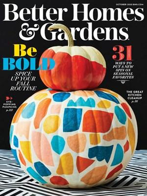 Better Homes & Gardens Magazine | 10/1/2020 Cover
