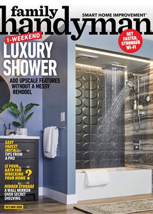 Family Handyman Magazine | 10/2020 Cover