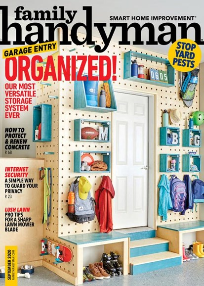 The Family Handyman Cover - 9/1/2020