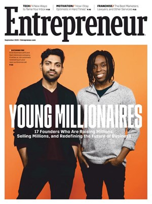 Entrepreneur Magazine | 9/2020 Cover