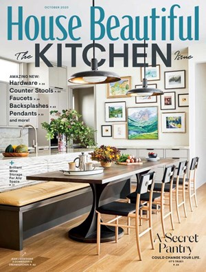 House Beautiful Magazine | 10/2020 Cover