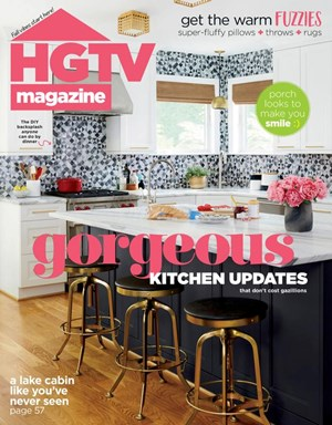 HGTV Magazine | 10/2020 Cover