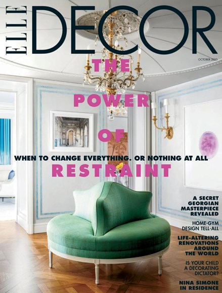 ELLE DECOR Cover - 10/1/2020
