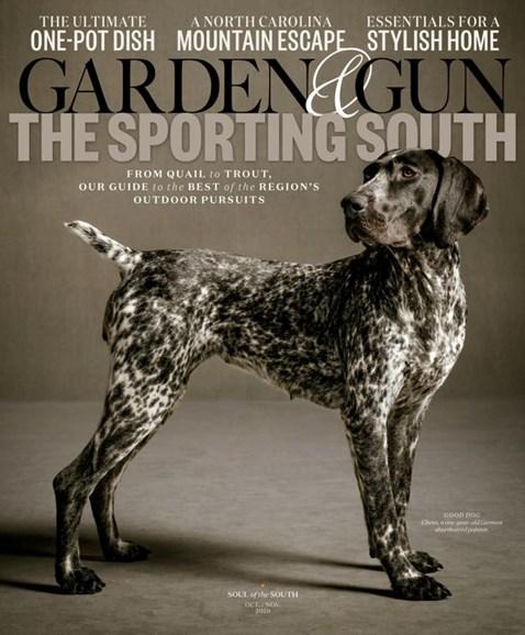 Garden & Gun Cover - 10/1/2020