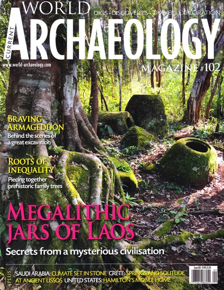 Current World Archaeology Cover - 8/1/2020
