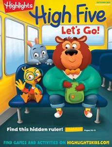 Highlights High Five | 9/2020 Cover