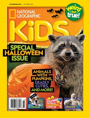 National Geographic Kids Magazine | 10/2020 Cover