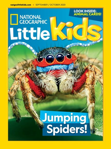 National Geographic Little Kids Cover - 9/1/2020