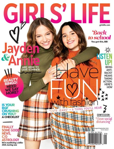 Girls' Life Cover - 8/1/2020