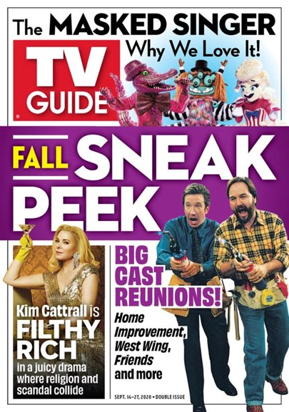 TV Guide Cover - 9/14/2020