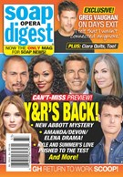 Soap Opera Digest Magazine 8/17/2020