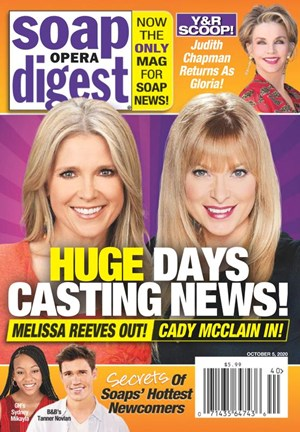 Soap Opera Digest Magazine | 10/5/2020 Cover